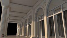 Ancadramente ferestre cu arcada pilastri terasa jumatate stalpi Venus, Palace, Exterior, Curtains, Design, Home Decor, Blinds, Decoration Home, Room Decor