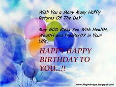 Happy Birthday Wishes Quotes Quotesbirthdaywishesforafriend  Happy Birthday Inspirational .