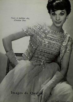 Fashion by Christian Dior, 1959.