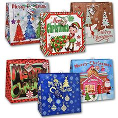 Gift Boutique Oversize Jumbo Christmas Gift Bags Giant Extra-large Holiday Set Of X X Christmas Gift Bags, Christmas Wrapping, Holiday Gifts, Christmas Pictures With Lights, Paper Gifts, Gifts For Girls, Gift Tags, Baby Gifts, Wedding Gifts