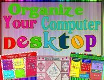 Desktop Organizers from Ready Resources on TeachersNotebook.com -  (10 pages)  - Is your computer desktop full of icons? These templates will organize your icons so you can easily find the file or program you want. The are functional, stylish, and so simple to use.