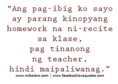 Boy Banat   Tagalog Love Quotes Collection   Pick up lines