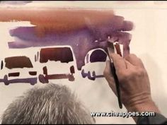Painting Automobiles by Frank Francese : Watercolor Painting