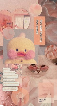 Recently Am obsessed with fanfanduck. Duck Wallpaper, Cool Wallpaper, Aesthetic Iphone Wallpaper, Aesthetic Wallpapers, Cute Ducklings, Baby Icon, Peach Aesthetic, Cute Love Gif, Cute Stuffed Animals