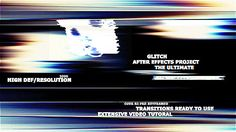 After Effects Project Files - The Ultimate Glitch + 70 Presets Pack | VideoHive