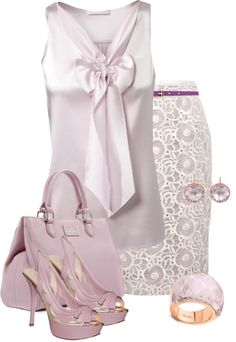 It's a little too frilly for me all together, but I would love each piece separately.