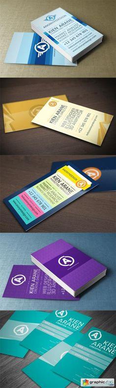 5 Business Card Templates