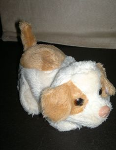 Small HASBRO 2010 fur Real Friends Puppy Dog Soft Toy Approx 5 Long