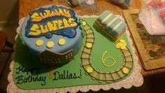 Subway surfers cake