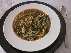 Pasta with tenerumi