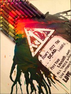 crayon art harry potter - Google Search