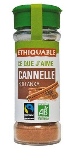 Canela de la cooperativa SOFA de Sri Lanka BIO en bote de especias. Apto para celiacos y veganos