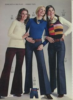 Sears catalog 1972--I might have worn one of these outfits.