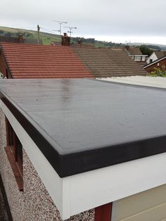 This Garage Roof In Rochdale Lancashire Is Transformed With A Grp Roofing  System, A Waterproof
