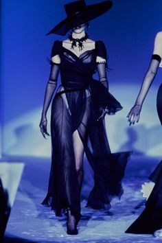 Mugler Spring 1997 Couture Fashion Show - Sibyl Buck