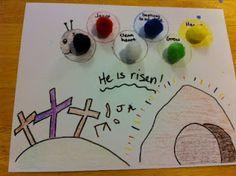 Preschool Easter- Caterpillars and Wordless Bible