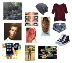 """""""with this nerd <3 -sam"""" by perfect-disaster-anons ❤ liked on Polyvore featuring American Eagle Outfitters"""
