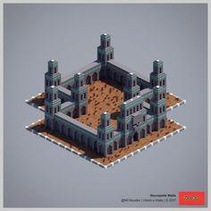 2017 World-o-Walls (Redux) Minecraft Wall Designs, Minecraft Images, Minecraft Interior Design, Minecraft Plans, Minecraft Architecture, Minecraft Blueprints, Cool Minecraft, Minecraft Creations, Minecraft Projects