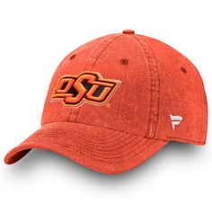 official photos 52345 5ae0c Men s Fanatics Branded Orange Oklahoma State Cowboys Timeless Fundamental  Adjustable Hat