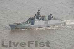The 3000 ton Kamorta class corvette INS Kilpan has been launched: Here a better view on her sister ship the INS Kamorta Swedish Navy, Pakistan Defence, Stealth Technology, Indian Navy, Fun Signs, Submarines, Aircraft Carrier, Royal Navy, Water Crafts