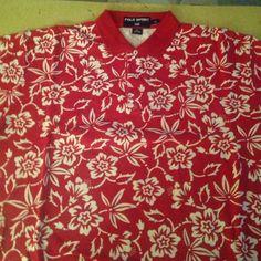 Mens XL Ralph Lauren Polo Sport Shirt Mens XL Ralph Lauren Polo Sport Shirt. Short Sleeve, 2 button at Collar, 100% Cotton Ralph Lauren Tops Tees - Short Sleeve