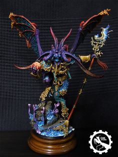 Kah'blas, greater demon of Tzeentch