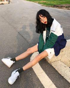K Fashion Asian Fashion Korean Spring Fashion Street Styles Spring Street Style Ulzzang Fashion Ulzzang Girl Cute Fashion Fashion Outfits Womens Fashion Grunge Outfits, Girl Outfits, Cute Outfits, Fashion Outfits, Fashion Tips, Fashion Hacks, Cute Fashion, Look Fashion, Girl Fashion