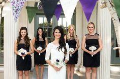 #vintagewedding bridal party