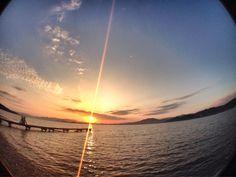 【今日のPocket画像】療養、勉学、お仕事のおともに(^.^)  【一年前の今日 at this time last year 】2015/2/2    博多湾の日の出  Morning at Hakata bay in Japan