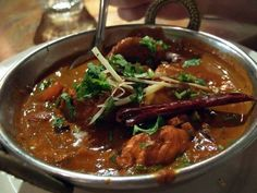 PHAAL curry from Brick Lane Curry House. Extremely spicy.