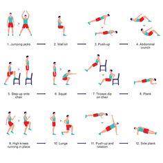 7 perces edzés