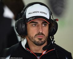 Fernando Alonso has been on the sidelines since his horror crash in the first Grand Prix of the season