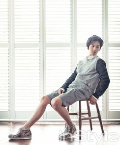 ZE:A Siwan - InStyle Magazine June Issue '13