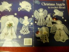 Angel Thread Crochet Patterns Christmas Angels by ClassyStitches, $12.00