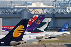 Airbus Tails by wabgs, via Flickr