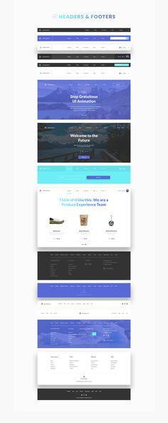 Patagonia UI Kit on Web Design Served