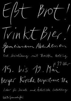 Fons Hickmann M23 - Labor für Soziale und Ästhetische Entwicklung - Ausstellung, Exhibition, Labor, Performance, Plakate, Poster, Social, Sozial
