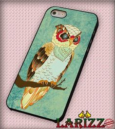 "Colorful Owl for iPhone 4/4s, iPhone 5/5S/5C/6/6 , Samsung S3/S4/S5, Samsung Note 3/4 Case ""007"""