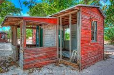 abandoned shacks, lower Sugarloaf Key