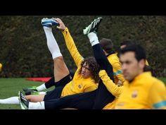 FOOTBALL -  FC Barcelona - Training session 27/02/2013 - http://lefootball.fr/fc-barcelona-training-session-27022013/