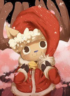One+Piece+Chopper+Christmas | ONE PIECE, Tony Tony Chopper, Christmas, Cherry Tree, Cherry Blossom ...