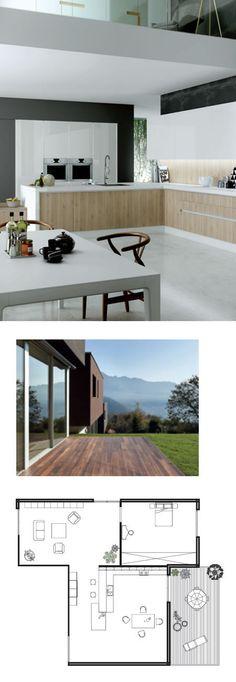 Ideas inteligentes y de alto valor estético.#muebles #cocina ...