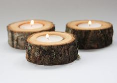 101 Best Woodworking Gift Ideas Perfect For Friend, Loved One and Relative (Bestsellers) – Lushome.club 30 rustic candle holders tea light holder oak candleholders rustic wedding decor log holder wedding favors christmas decor by DINDINTOYS Wood Tea Light Holder, Rustic Candle Holders, Rustic Candles, Candle Holders Wedding, Tealight Candle Holders, Diy Candles, Candle Art, Yankee Candles, Birch Wedding
