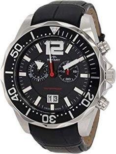 49954247fd15 Rotary Herren - Armbanduhr Chronograph Quarz AGS90050 C 04  geschenkideen   uhren