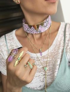 MULTIROW WITH BOHO STONES IN PASTEL COLORS, SA FRESH RENWAL FOR SPRING