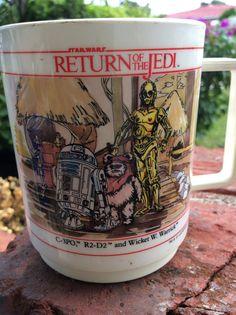 Star Wars Return of the Jedi vintage mug 1983 by GreatThrifty