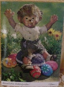 Postkarte Mecki 359 Ostern