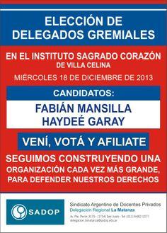 ELECCIÓN DE DELEGADOS EN EL INSTITUTO SAGRADO CORAZÓN DE VILLA CELINA