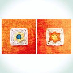 El próximo será azul. Next granny will be blue  #DROPSCAL #calblanket #TheMeadow #misteryblanket #blanket #crochet #crocheting #crochetlove #ganchillo #hechoamano #handmade #diy #instacrochet #crochetersofinstagram #cotton #dropsfan #dropssafran #cute #flower #ilovecrochet #thinkinginblue by madrinamandarina