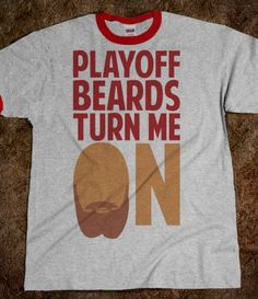 Playoff Beards..YES!
